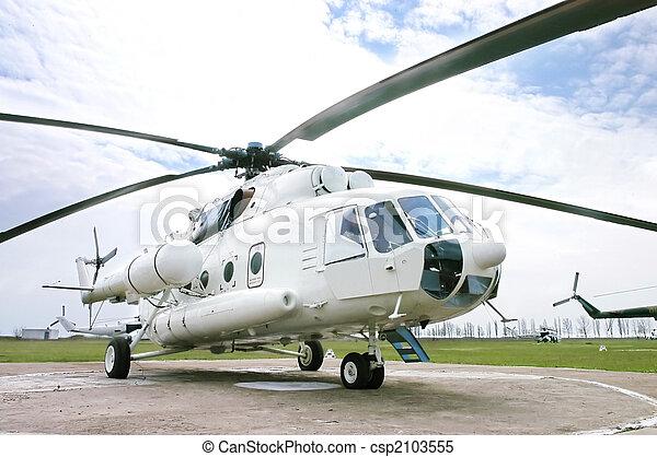 militær helicopter - csp2103555