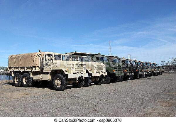 militære køretøjer - csp8966878