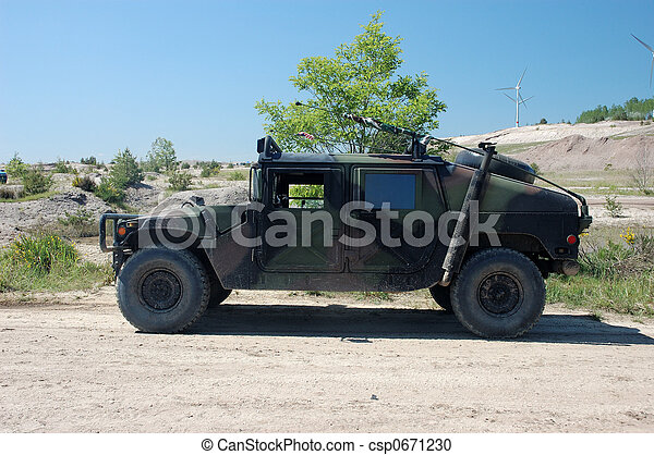 militært køretøj - csp0671230