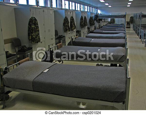 militaer, bunks - csp0201024