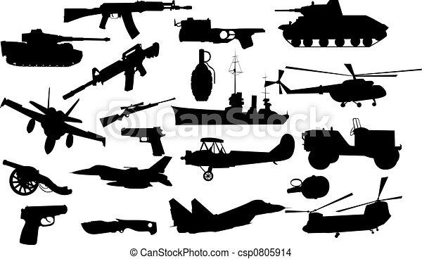 militaer, gegenstände - csp0805914