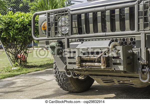 militaer, photographie, fahrzeug - csp29832914