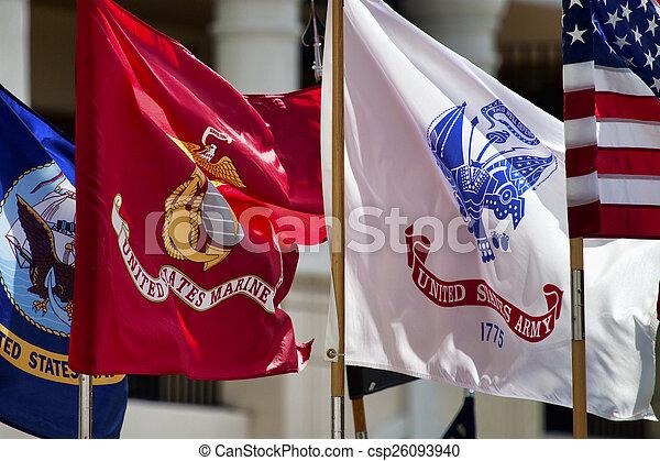militaer, standards - csp26093940
