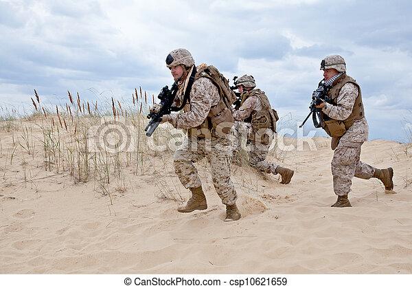 militaire, opération - csp10621659