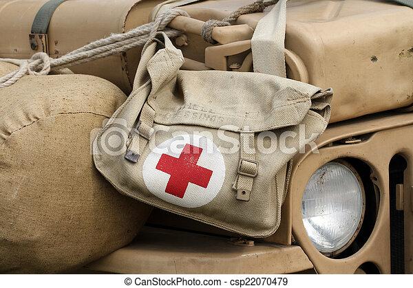 militar, farmácia, equipamento - csp22070479