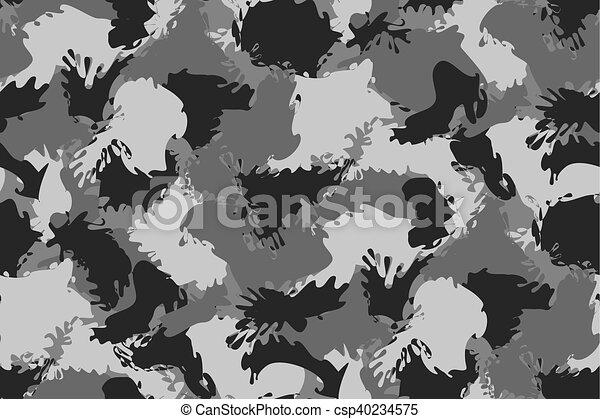 Fondo camuflaje militar gris
