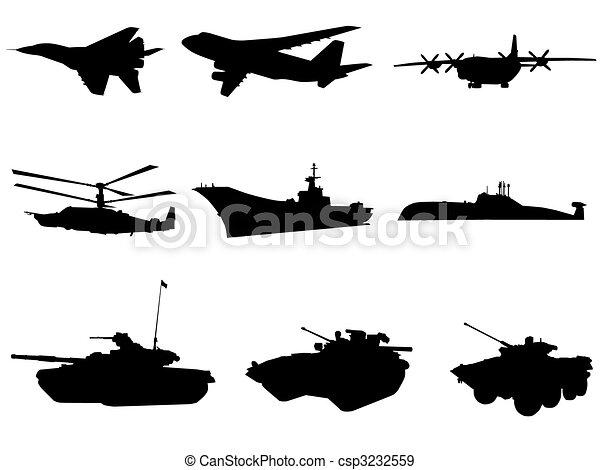 militar, technics - csp3232559