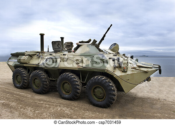 Military   army,   armored     vehicle      - csp7031459