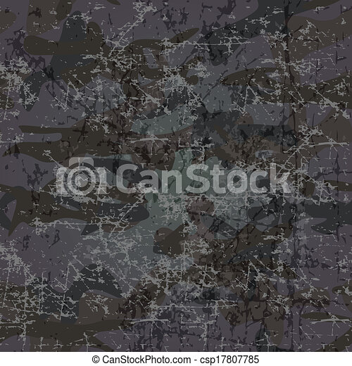 Military background with copy space (vector) - csp17807785