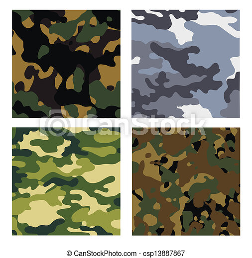 military backgrounds - csp13887867