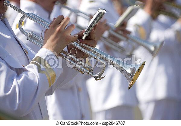Military band - csp2046787