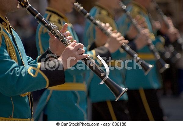 Military band - csp1806188