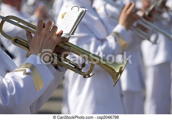 Military band - csp2046798