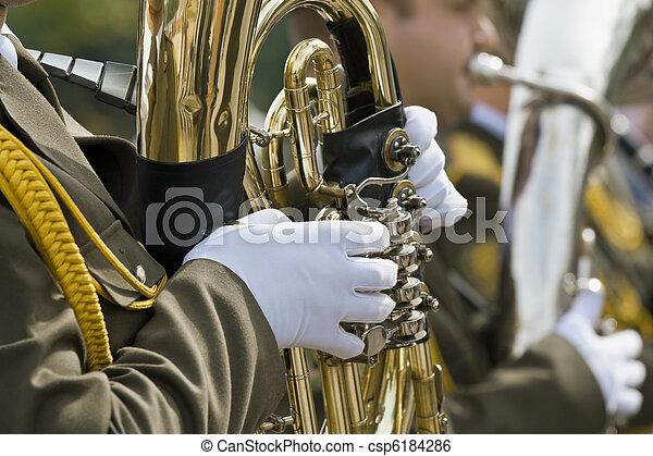 Military band - csp6184286