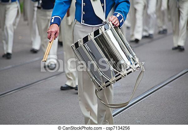 Military band - csp7134256