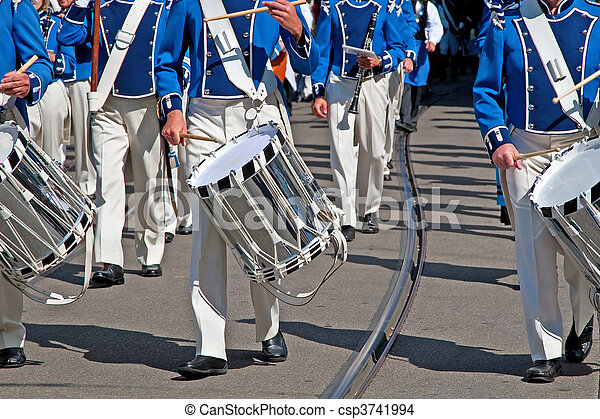 Military band - csp3741994