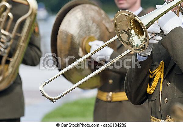 Military band - csp6184289