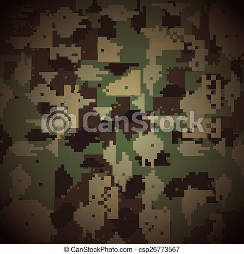 military camouflage  - csp26773567