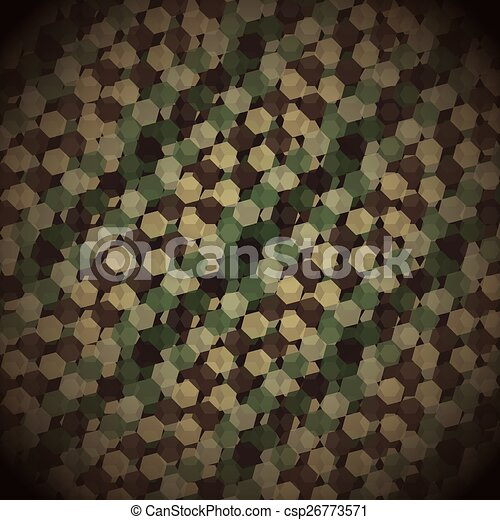 military camouflage  - csp26773571