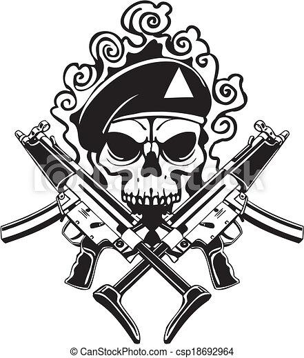 Military Design - vinyl-ready vector illustration. - csp18692964