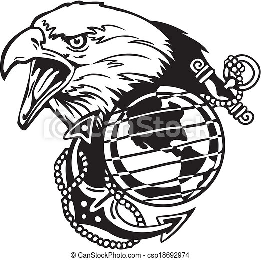 Military Design Vinyl Ready Vector Illustration