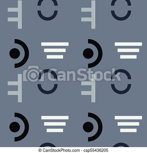 Military discipline seamless pattern - csp55436205