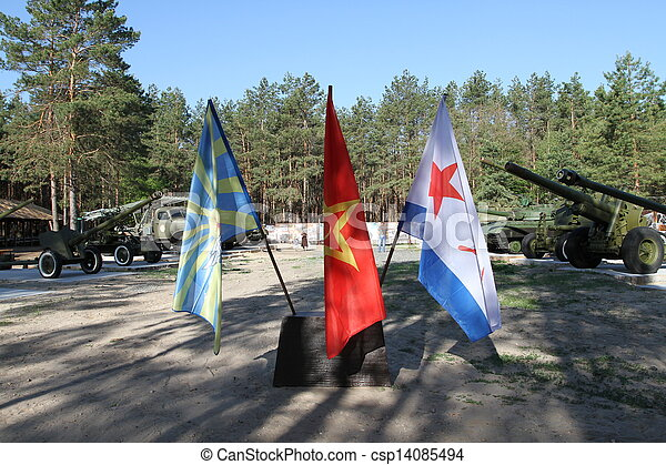military flags - csp14085494