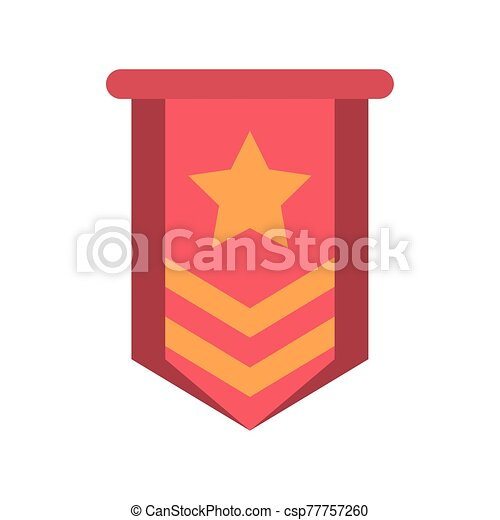 military force medal isolated icon - csp77757260