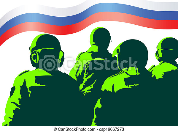 Military force of Russia - csp19667273