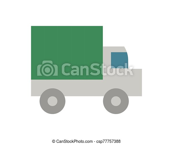 military force truck isolated icon - csp77757388