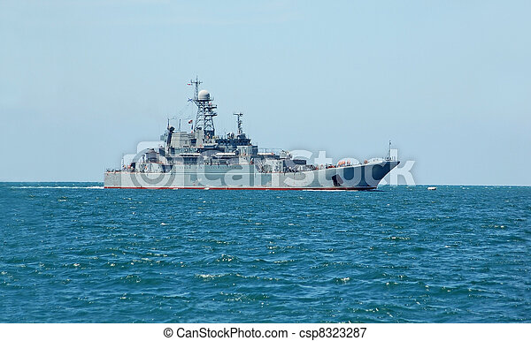military hajó - csp8323287