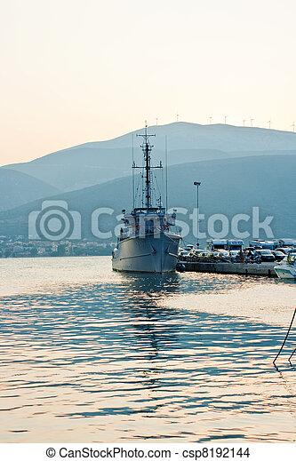 military hajó - csp8192144