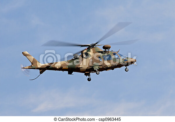 Military helicopter - csp0963445