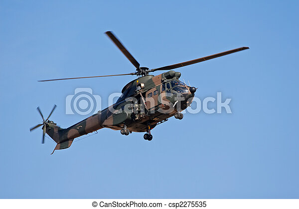 Military helicopter - csp2275535