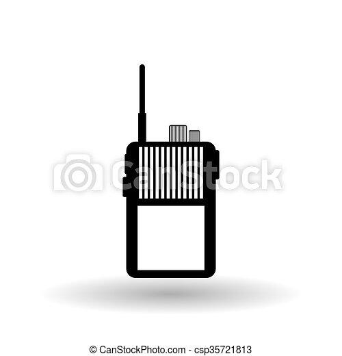 Military icon design, vector illustration - csp35721813