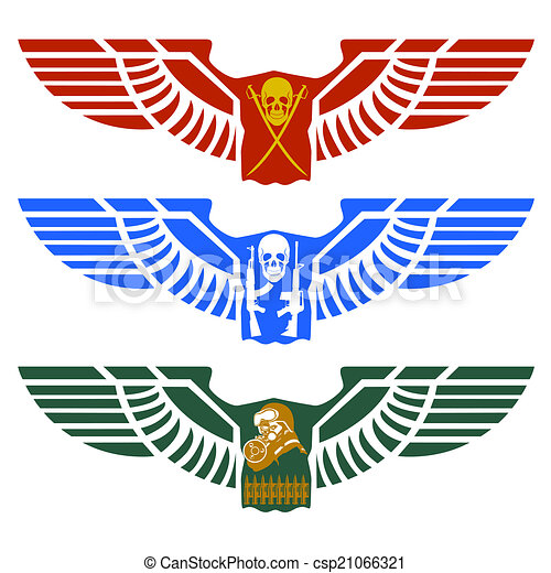 Army Airborne Wings Clipart - Free Clipart | Airborne tattoos, Vinyl  decals, Army tattoos