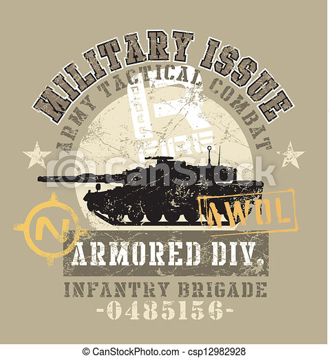 military issue - csp12982928