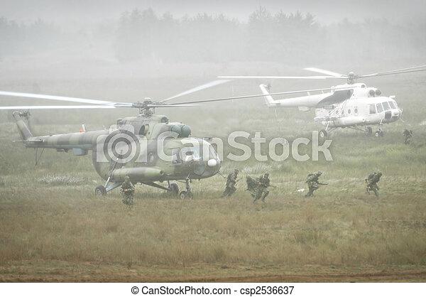 Military operation - csp2536637
