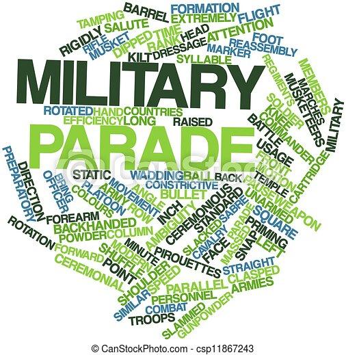 Military parade - csp11867243