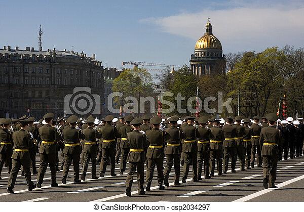 Military parade - csp2034297