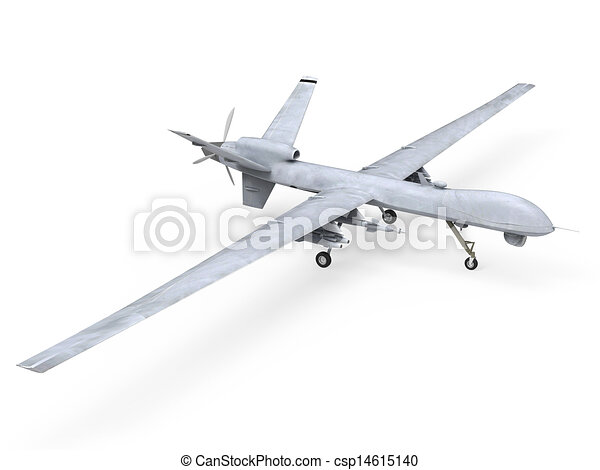 Military Predator Drone - csp14615140