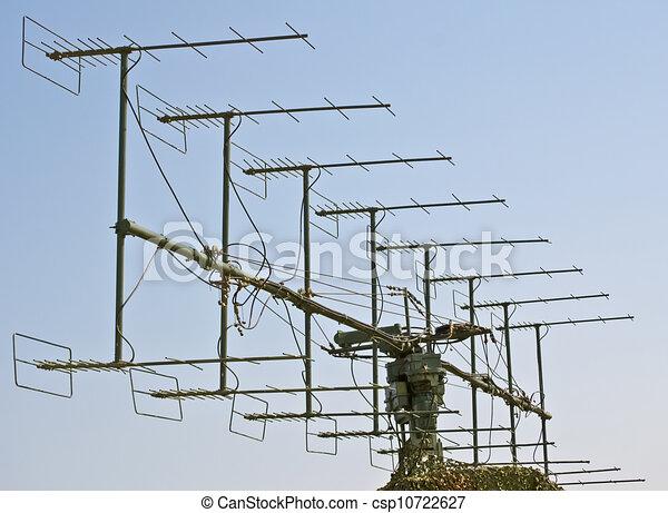 Military Radar Antenna For Object S