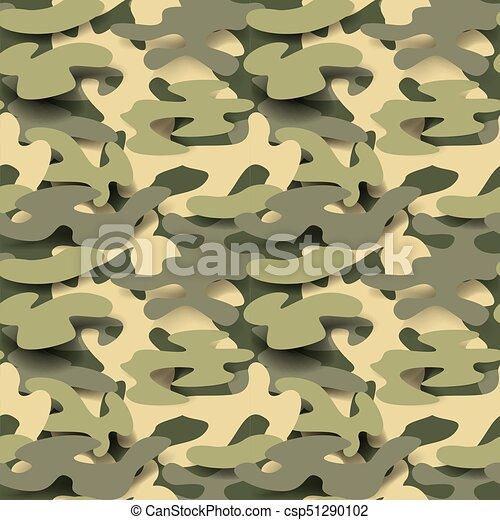 Military Seamless Pattern Camouflage Background Camo Fashion Amazing Army Pattern