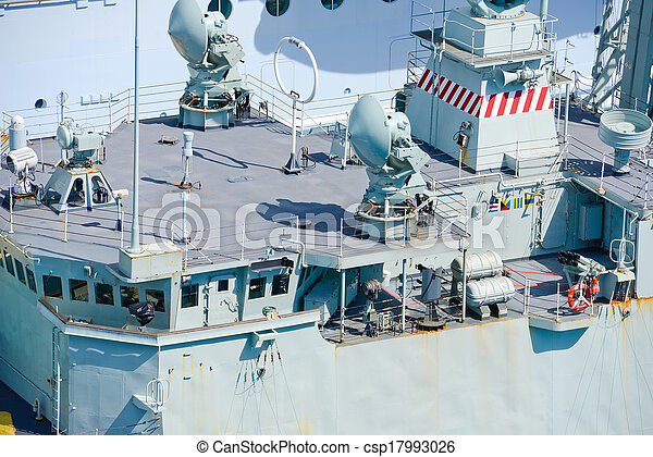 Military ship - csp17993026