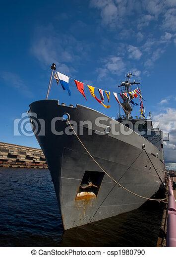 military ship - csp1980790