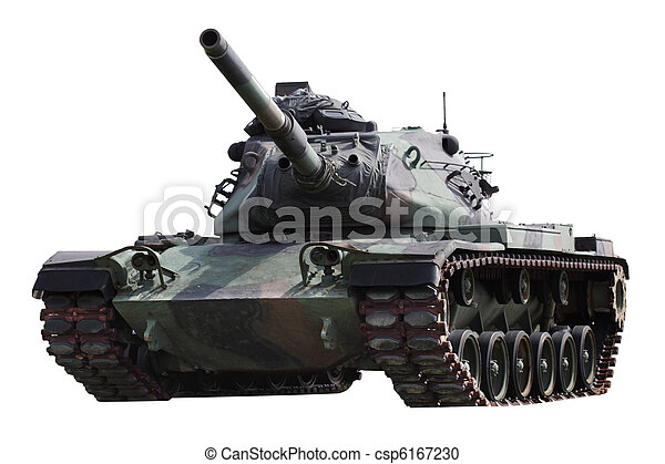 Military Tank - csp6167230