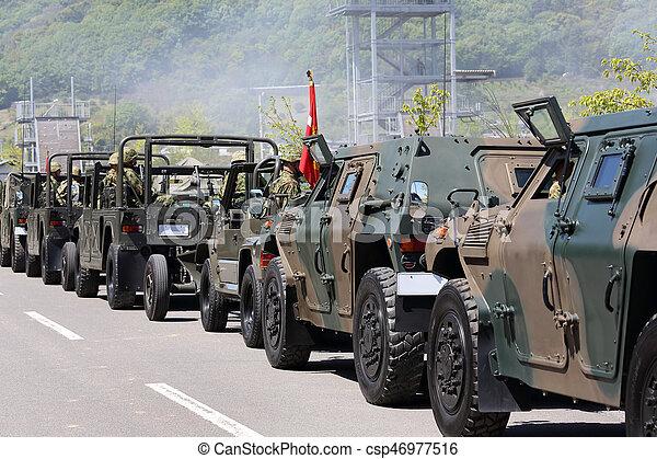Military vehicle - csp46977516