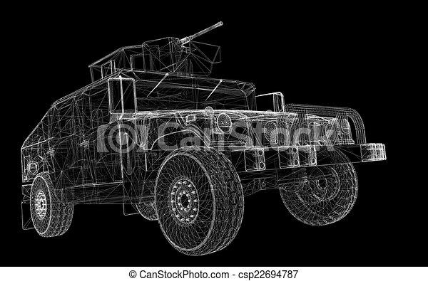 Military Vehicle - csp22694787