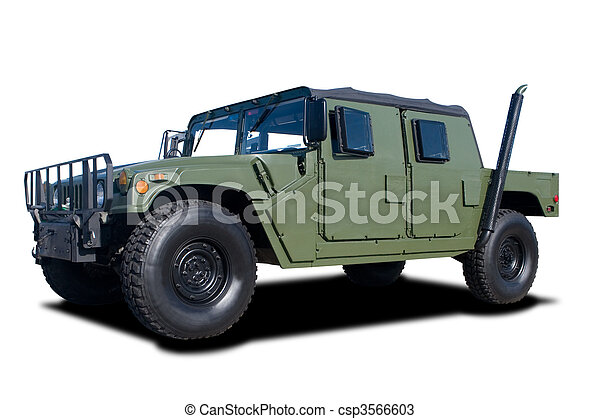 Military Vehicle - csp3566603