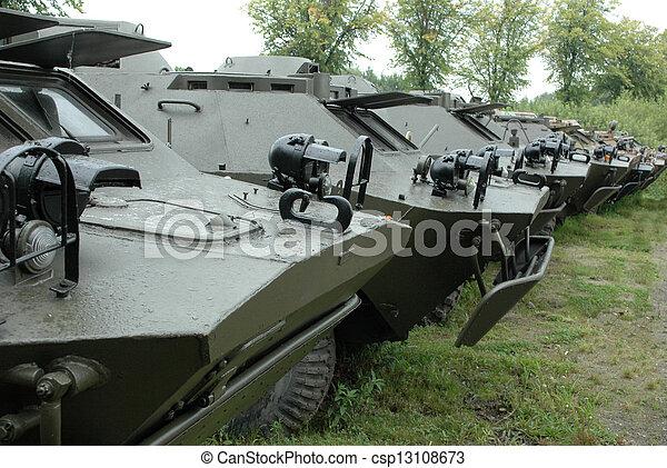 Military vehicles - csp13108673